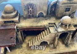 Custom 1 of 1 Star Wars Tatooine Villa 118 scale diorama 19.75 X 12.5 X 9.75in