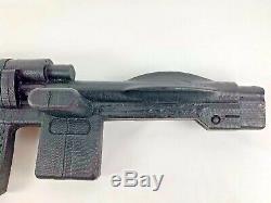 Custom 11 Vintage Kenner Star Wars BLACK IMPERIAL BLASTER Prop Replica Cosplay
