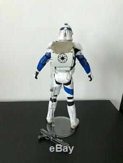 Custom 16 Scale Clone Trooper Kix Star Wars Clone Wars Medicom Sideshow 1/6