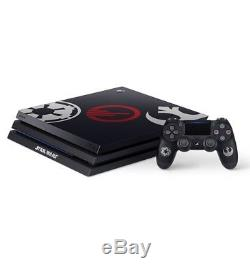 Custom 4TB Star Wars Battlefront 2 Limited Sony PS4 PRO 4 TB Bundle +Game + DLC