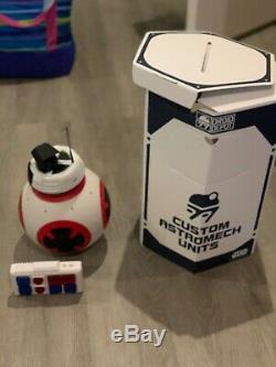 Custom Astromech Unit BB8 Disneyland Star Wars Droid Depot + Storage Backpack