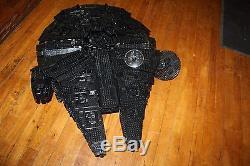 Custom Black LEGO Star Wars Ultimate Collector's Millennium Falcon (10179)