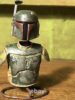 Custom Boba Fett Armor 6 Black Series Star Wars Mandalorian HAND PAINTED