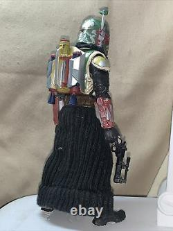 Custom Boba Fett (Boba Fatt) 6 Black Series Star Wars Mandalorian HAND PAINTED