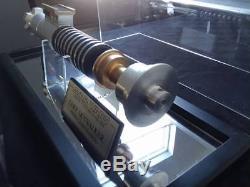 Custom Built Star wars lightsaber prop ROTJ LUKE SKYWALKER Hero (Aluminum)