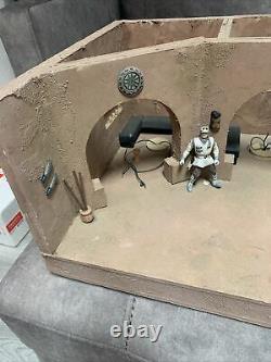 Custom Cantina Building Playset Diorama Star Wars 3.75 Scale 20x13x9