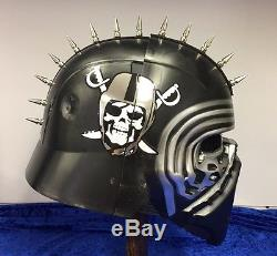Custom Concept Oakland Raiders Deluxe Kylo Ren Star Wars Helmet New