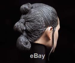 Custom Daisy Ridley 1/6 Head Sculpt for Hot Toys Star Wars Rey Female Body