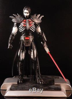 Custom Dcu Marvel Legends Star Wars Black Series 6 Kotor Eu Sith Lord Darth Nihl