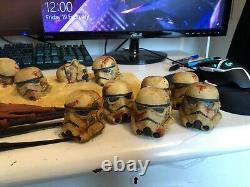Custom Diorama Base For Hot Toys 1/6 Scale Mandalorian Star Wars