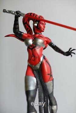 Custom Fan Art Star Wars Darth Talon 1/4 Scale Statue 39/91