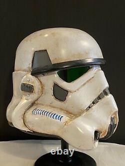 Custom Handmade Star Wars Remnant Trooper / Sandtrooper Helmet