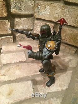 Custom He-man Masters Of The Universe Motu Classics Star Wars Boba Fett Figure