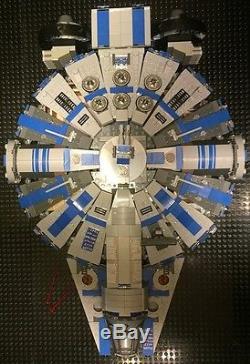 Custom Lego Compatible Star Wars Blue/Gray Corellian Patrol Ship With Crew! NEW