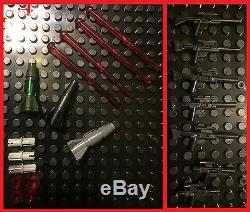 Custom Lego Compatible Star Wars Green/Gray Imperial Corellian Patrol Ship +MORE