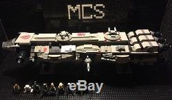 Custom Lego Compatible Star Wars Old Republic Rebel Cruiser With Crew