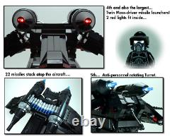 Custom Lego Star War Black OPs Republic Gunship 7676 7163 75021 75046 75292