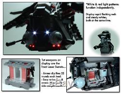 Custom Lego Star War Black OPs Republic Gunship & Shadow Trooper 7676 7163 75021