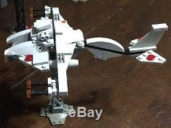 Custom Lego Star Wars D7 Mantis Star ship with Crew and Cargo