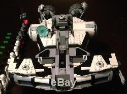 Custom Lego Star Wars Jedi turned Imperial Defender class ship With11 Mini-Figs