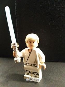 Custom Lego Star Wars Luke Skywalker New Hope GLOW saber version by Christo 7108