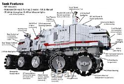 Custom Lego Star Wars RC Turbo Tank UCS 8098 75192 75159 10143 10188 10179 10221