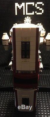 Custom Lego Star Wars Rebel Hammerhead Corvette with crew + Many Extras