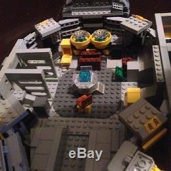 Custom Lego Star Wars Smuggler Class Star Ship With Crew