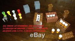 Custom Lego Star Wars THE HUTTS LOUNGE Night Club with Generator etc