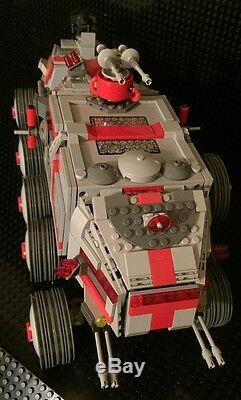 Custom MCS Star War 41st ARC (Armored Recon Company) Turbo Tank and Crew