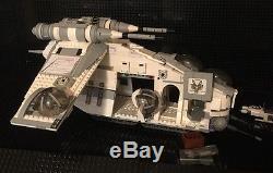 Custom MCS Star Wars 182nd Gunship, Crew and Speeder
