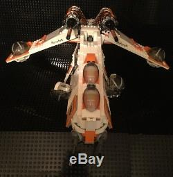 Custom MCS Star Wars 212th Gunship, Crew and Speeder