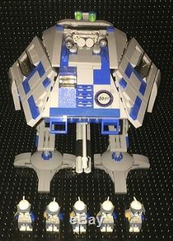 Custom MCS Star Wars 501st AT-AP/E Assault Walker with clone crew