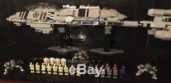 Custom MCS Star Wars RECUSENT CLASS destroyer with droid crew