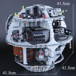 Custom Moc Building Blocks Star Wars Death Star Fits To