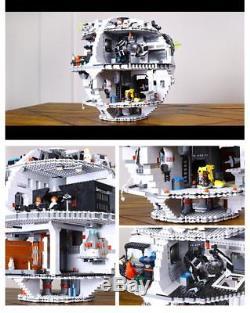 Custom MOC building blocks Star Wars Death Star fits to lego 10188
