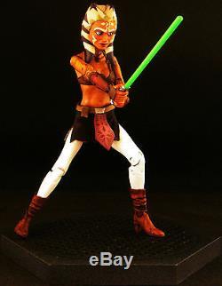 Custom Marvel Legends Sh Figuarts Sty Star Wars Black Series Ahsoka Tano Jedi 6