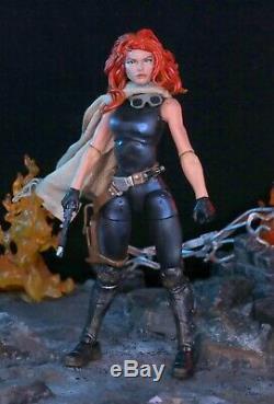 Custom Marvel Legends Star wars Black Series Mara Jade