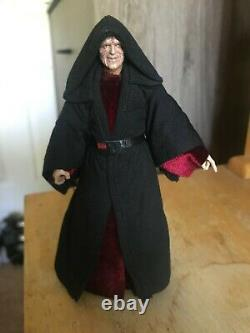 Custom Mezco Black Series Star Wars 1/12 Emperor Palpatine Rise of Skywalker
