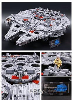 Custom Millennium Falcon UCS 5265 Pcs Same as Legos Star Wars 10179 -DHL
