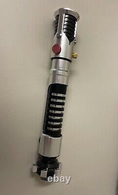 Custom Obi Wan Kenobi 11 Full Scale Lightsaber AOTC (not master replicas)