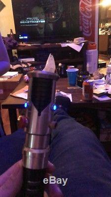 Custom Obi Wan Kenobi Lightsaber Replica with Sound Star Wars the last Jedi
