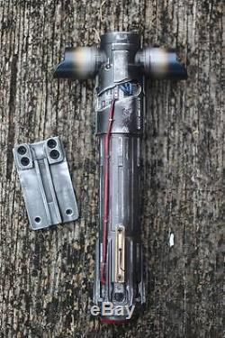 Custom Replica Star Wars Kylo Ren Lightsaber With Functional Belt Clip Hilt