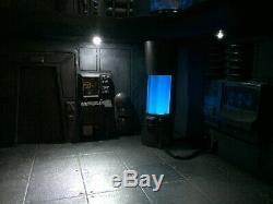 Custom SCI FI DIORAMA STAR WARS BLACK HOLE Battlestar Galactica for 3.75 figure