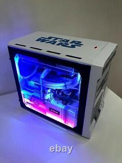 Custom STAR WARS R2-D2 Gaming PC Ryzen 5 2600 (6 core), RX590 8gb GPU, 16gb RAM