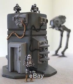Custom Sci Fi Command Tower Playset Diorama Star Wars GI Joe 118 3.75