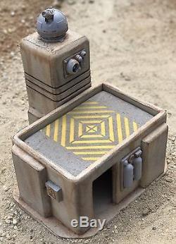 Custom Sci Fi Desert Outpost Playset Diorama Star Wars Acid Rain 118 3.75