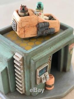 Custom Sci Fi Domed Urban Building Playset Diorama Star Wars GI Joe 118 3.75
