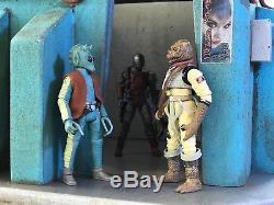 Custom Sci Fi Urban Building Playset Diorama Star Wars for 6 112 OR 3.75 118