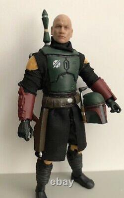 Custom Star Wars 6 Black Series Mandalorian Boba Fett (Removable Helmet)